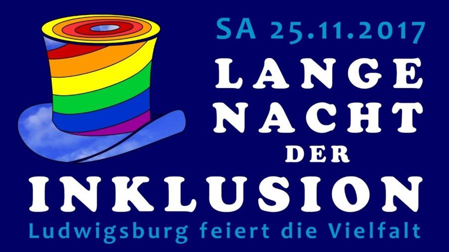 Lange Nacht der Inklusion am 25.11.2017 in Ludwigsburg
